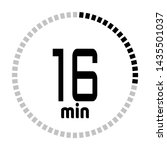 the 16 minutes countdown timer...