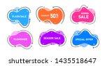 vector graphic liquid style... | Shutterstock .eps vector #1435518647