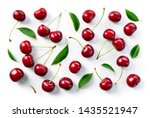 Cherry background. cherries...