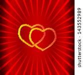 love vector background   Shutterstock .eps vector #143552989