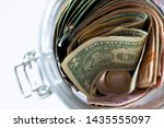 money from different countries  ... | Shutterstock . vector #1435555097
