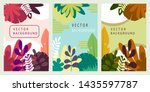 collection of abstract...   Shutterstock .eps vector #1435597787