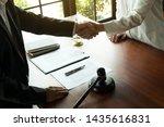 business handshake. business... | Shutterstock . vector #1435616831