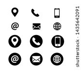 web business icon symbol vector | Shutterstock .eps vector #1435642091