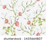 beautiful seamless vector... | Shutterstock .eps vector #1435664807