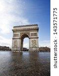 arc de triomphe | Shutterstock . vector #143571775