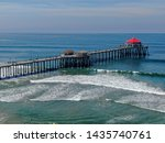 Aerial View Of Huntington Pier  ...