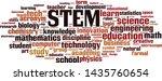 stem word cloud concept....   Shutterstock .eps vector #1435760654