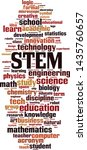stem word cloud concept....   Shutterstock .eps vector #1435760657