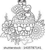 Hand Drawn Dessert Pattern....