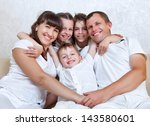 happy family spends together... | Shutterstock . vector #143580601