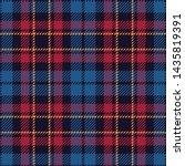 tartan plaid pattern. seamless...   Shutterstock .eps vector #1435819391