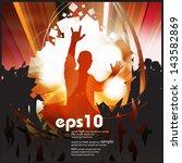 concert. vector illustration | Shutterstock .eps vector #143582869