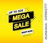 background sale design... | Shutterstock .eps vector #1435832777