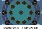 geometric design  mosaic of a... | Shutterstock .eps vector #1435929131