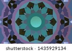 geometric design  mosaic of a... | Shutterstock .eps vector #1435929134