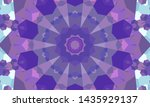 geometric design  mosaic of a... | Shutterstock .eps vector #1435929137