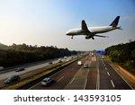 Jet Aircraft On Landing...