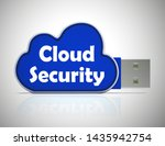 cloud security concept icon... | Shutterstock . vector #1435942754