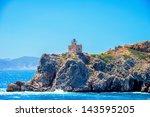 greece ios island in cyclades ... | Shutterstock . vector #143595205