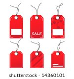 vector tags | Shutterstock .eps vector #14360101