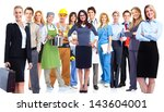 group of workers. business... | Shutterstock . vector #143604001