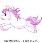 illustration of running cute... | Shutterstock .eps vector #143611921