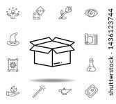 magic box outline icon....