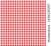 Gingham Red Pattern. Square...