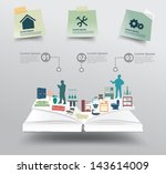 Book With Home Appliances Icon...