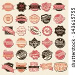 high quality labels whit... | Shutterstock .eps vector #143615755