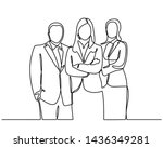 continuous line drawing of... | Shutterstock .eps vector #1436349281