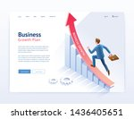 business growth plan website ui ...