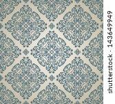 delicate pattern in islamic... | Shutterstock .eps vector #143649949
