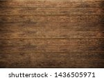 old wooden planks background... | Shutterstock . vector #1436505971