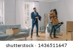 Real Estate Agent Shows Bright...