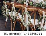 boho wedding table for a... | Shutterstock . vector #1436546711
