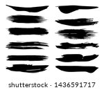 collection of artistic grungy...   Shutterstock . vector #1436591717