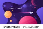 vector illustration on the... | Shutterstock .eps vector #1436600384
