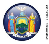 flag button illustration   new... | Shutterstock . vector #143660155