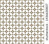 seamless geometric ornamental... | Shutterstock .eps vector #1436630837