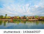hoi an  vietnam  9 may 2019  ... | Shutterstock . vector #1436660537