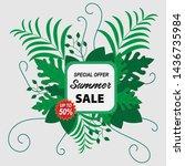 summer sale promo web banner....