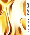 fluid abstract background with... | Shutterstock . vector #1436756447