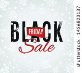 black friday sale abstract... | Shutterstock . vector #1436823137
