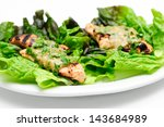 healthy barbequed chicken...