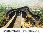 Lower Ramparts Of Lohagad Fort...
