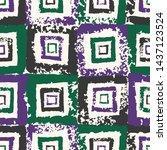 Motley Mosaic. Patchwork Hand...