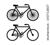 bicycle vector | Shutterstock .eps vector #143713837