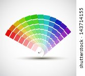 Color Palette Isolated On Whit...